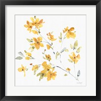 Happy Yellow 05A Framed Print