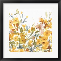 Happy Yellow 08A Framed Print