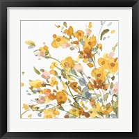 Happy Yellow 09A Framed Print