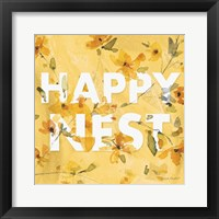 Happy Yellow 15A Framed Print