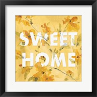 Happy Yellow 16A Framed Print