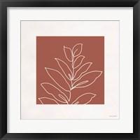 Just Leaves 06 Framed Print