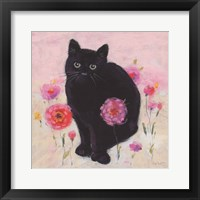 Nina the Cat 02 Framed Print