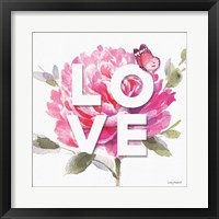 Obviously Pink 07A Framed Print