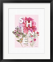 Obviously Pink 08A Framed Print