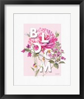 Obviously Pink 09A Framed Print