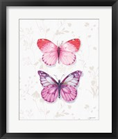 Obviously Pink 10A Framed Print