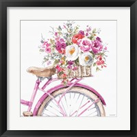 Obviously Pink 15A Framed Print