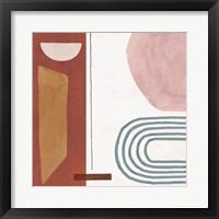 Sierra Abstract 02 Framed Print