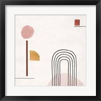 Sierra Abstract 05 Framed Print
