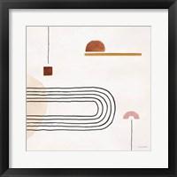 Sierra Abstract 06 Framed Print