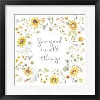 Sunflowers Forever 10 Framed Print