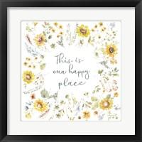 Sunflowers Forever 11 Framed Print