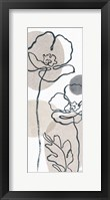 Think Neutral 04A Framed Print