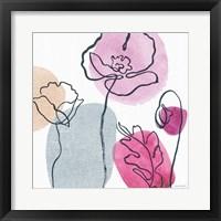 Think Pink 02A Framed Print