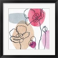 Think Pink 03A Framed Print