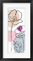 Think Pink 04A Framed Print