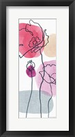 Think Pink 05A Framed Print
