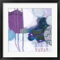 Abstract Layers IV Framed Print