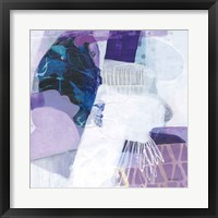Abstract Layers III Framed Print