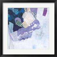 Abstract Layers II Framed Print