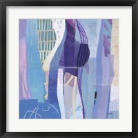 Abstract Layers I Framed Print