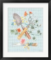 Gardenscape XIII Framed Print