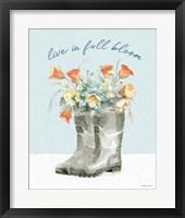 Gardenscape VII Framed Print