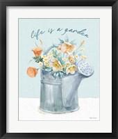 Gardenscape VI Framed Print