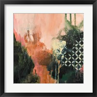 Framed Abstract Layers I