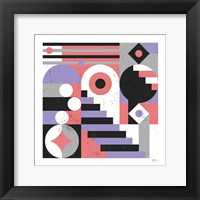 Framed Abstract Stairs