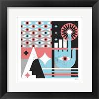 Framed Abstract Hand