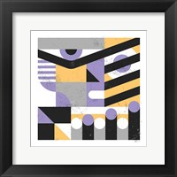 Framed Abstract Face