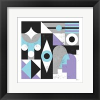 Framed Abstract Eyes