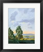 Evening Skies II Framed Print