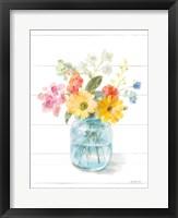 Homegrown Summer IV Framed Print