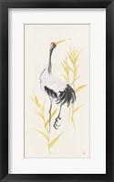 Crane Reeds I Framed Print