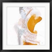 Amber Wash I Framed Print