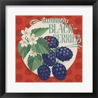 Berry Breeze V Framed Print