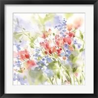 Spring Meadow II Framed Print