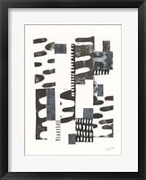 Overlap I Framed Print