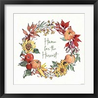 Country Harvest VIII Framed Print