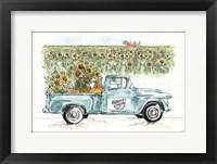 Country Harvest I Framed Print