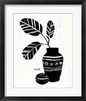 Botanical Sketches VIII Framed Print