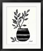 Botanical Sketches VII Framed Print