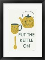Retro Kitchen Coffee IV Framed Print