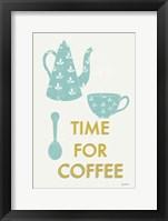 Retro Kitchen Coffee III Framed Print