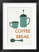 Retro Kitchen Coffee II Framed Print