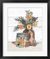 Seasonal Market II Framed Print