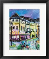 Paris Evening I Framed Print